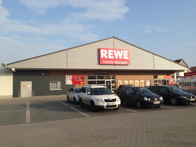 Supermarket in Holzminden REWE